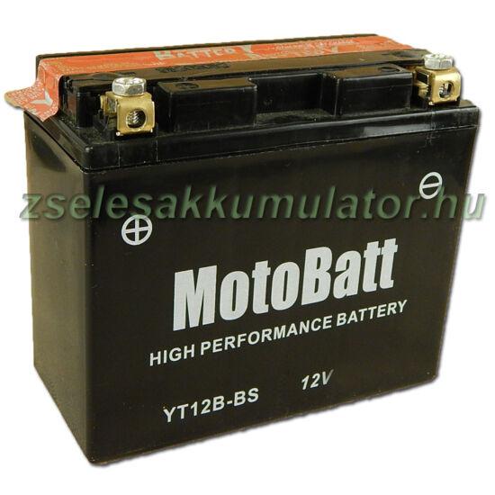 MotoBatt YT12B-4 12V 11Ah Motor akkumulátor