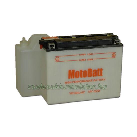 MotoBatt YB16AL-A2 (sav csomagos) 12V 16Ah Motor akkumulátor