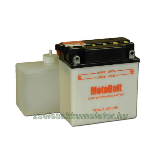 MotoBatt YB7A-A (sav csomagos) 12V 8Ah Motor akkumulátor