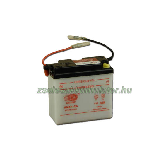 OUTDO 6N4B-2A 6V 4Ah Motor akkumulátor