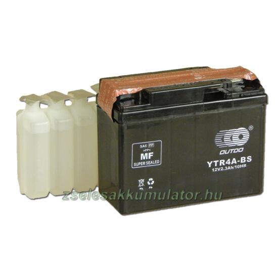 OUTDO YTR4A-BS 12V 2,3Ah Motor akkumulátor