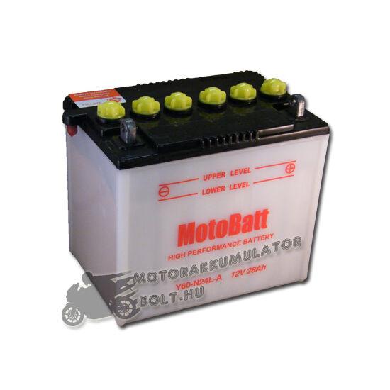 MotoBatt Y60-N24L-A 12V 28Ah Motor akkumulátor