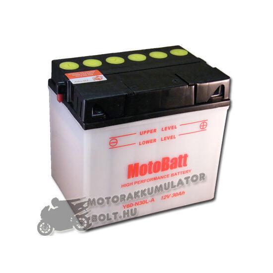 MotoBatt Y60-N30L-A 12V 30Ah Motor akkumulátor