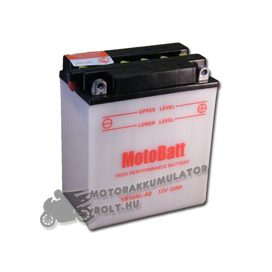MotoBatt YB12AL-A2 12V 12Ah Motor akkumulátor