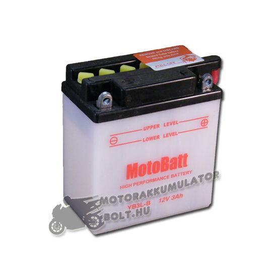 MotoBatt YB3L-B 12V 3Ah Motor akkumulátor