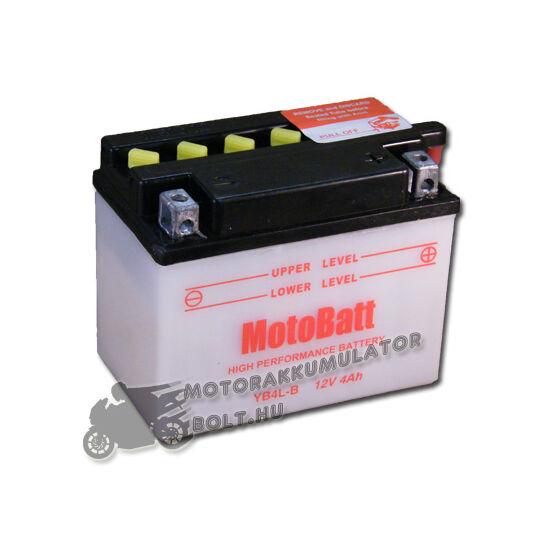 MotoBatt YB4L-B 12V 4Ah Motor akkumulátor