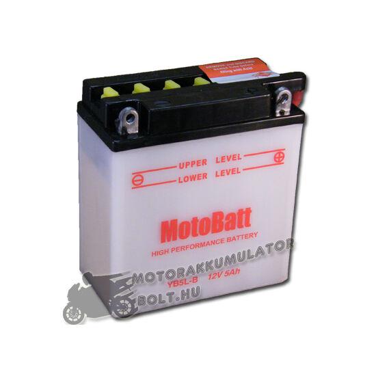 MotoBatt YB5L-B 12V 5Ah Motor akkumulátor