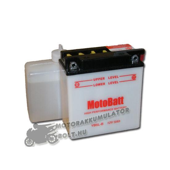 MotoBatt YB5L-B (sav csomagos) 12V 5Ah Motor akkumulátor