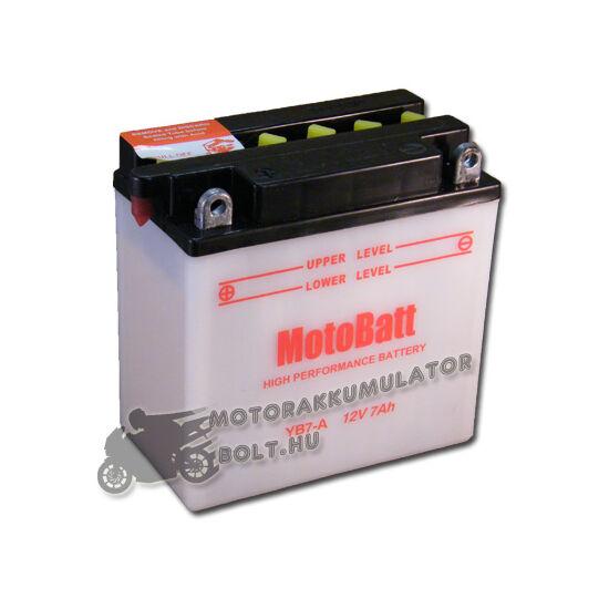 MotoBatt YB7-A 12V 8Ah Motor akkumulátor