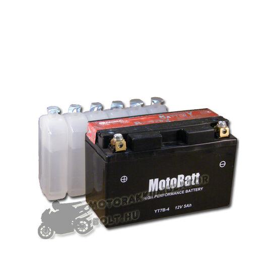 MotoBatt YT7B-4 12V 6,5Ah Motor akkumulátor