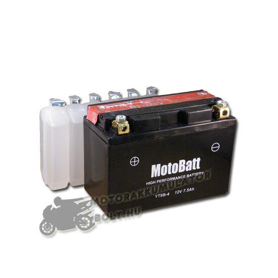 MotoBatt YT9B-4 12V 8Ah Motor akkumulátor