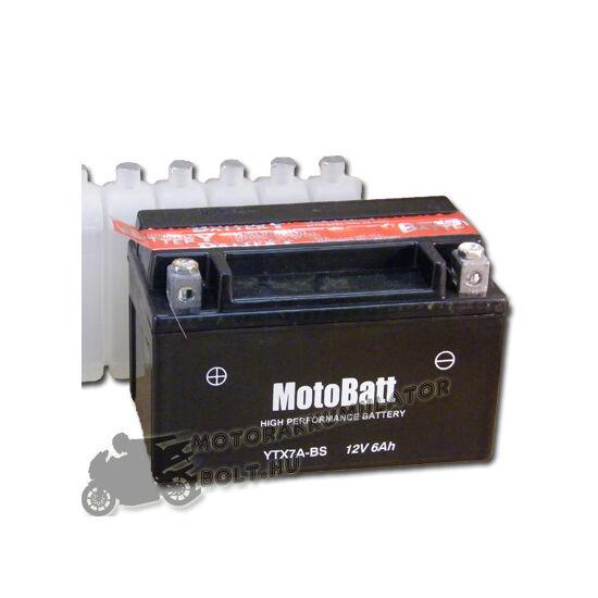 MotoBatt YTX7A-BS 12V 6Ah Motor akkumulátor