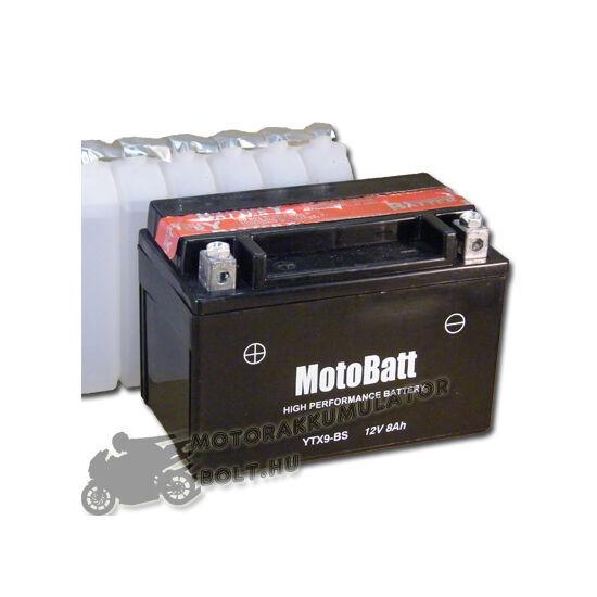 MotoBatt YTX9-BS 12V 8Ah Motor akkumulátor