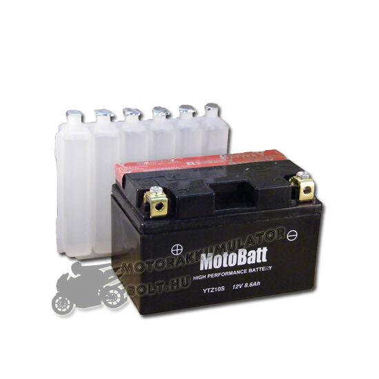 MotoBatt YTZ10-S 12V 8,6Ah Motor akkumulátor