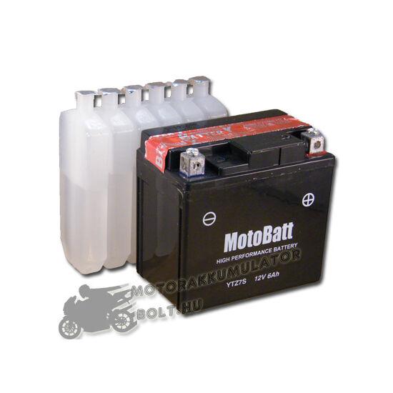 MotoBatt YTZ7-S 12V 6Ah Motor akkumulátor